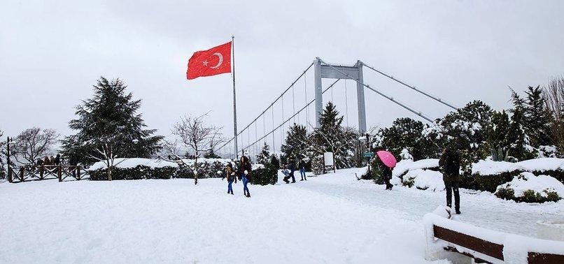 İstanbul'da Kar Yağışı Devam Edecek